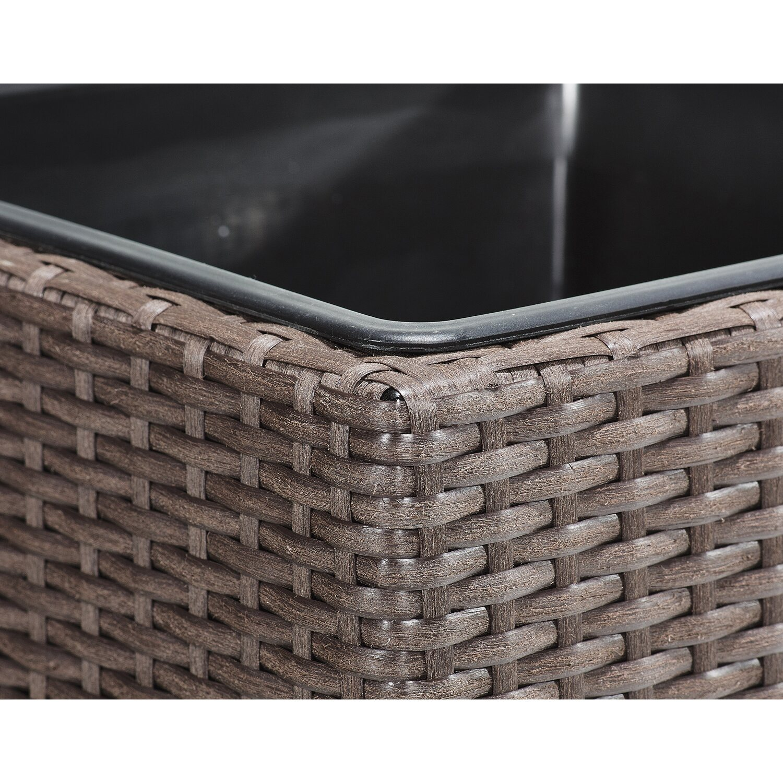 gartenfreude raumteiler pflanzk bel polyrattan 76 cm x 26. Black Bedroom Furniture Sets. Home Design Ideas
