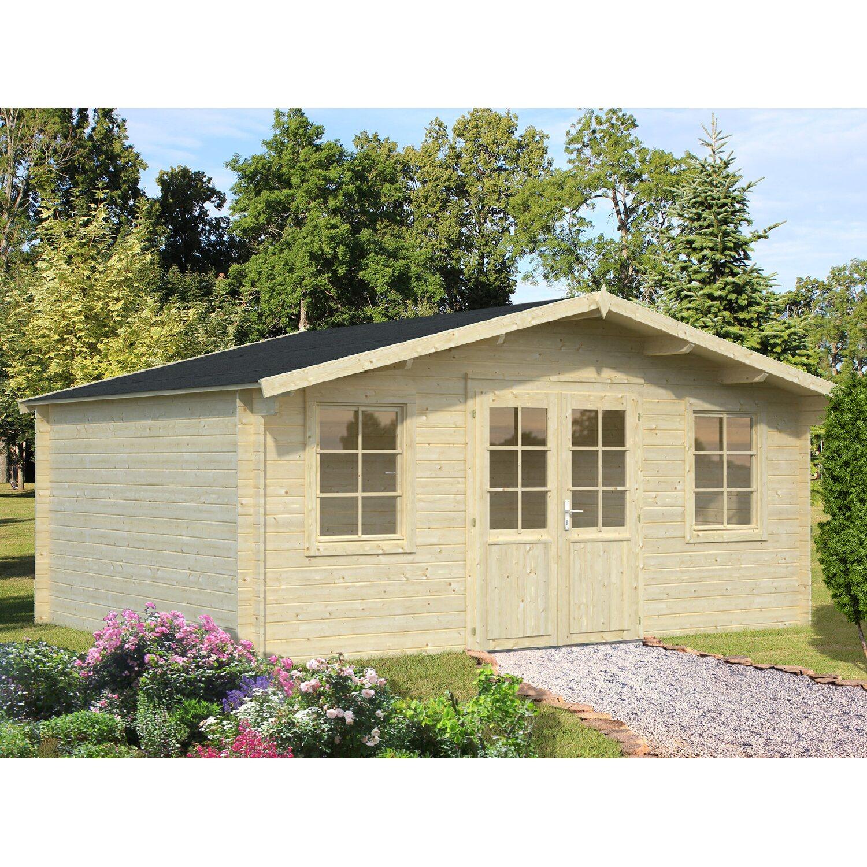 Palmako Holz Gartenhaus Klara B XT: 484 Cm X 360 Cm