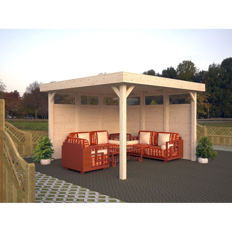 Fantastisch Palmako Holz Pavillon Lucy 349 Cm X 349 Cm Ohne Fußboden Kaufen  EM41