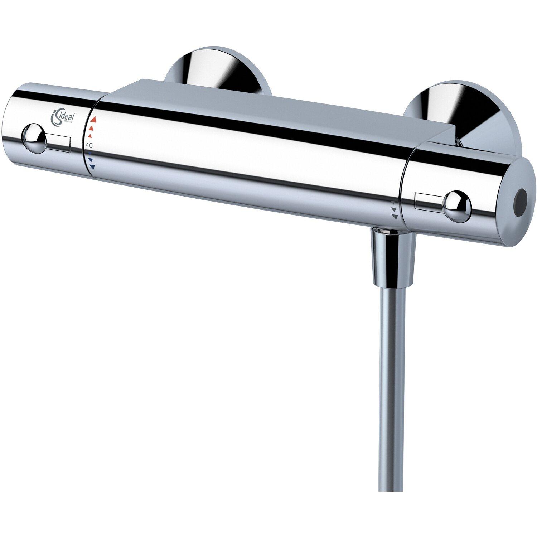 Ideal Standard  Thermostat-Armatur Ceratherm 50 verchromt