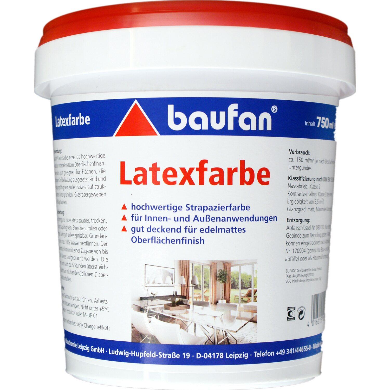 Baufan Latexfarbe 750 Ml