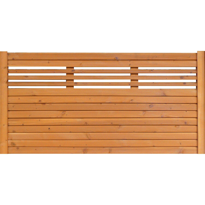 sichtschutzzaun element typ 138 180 cm x 90 cm kirschbaumfarben kaufen bei obi. Black Bedroom Furniture Sets. Home Design Ideas