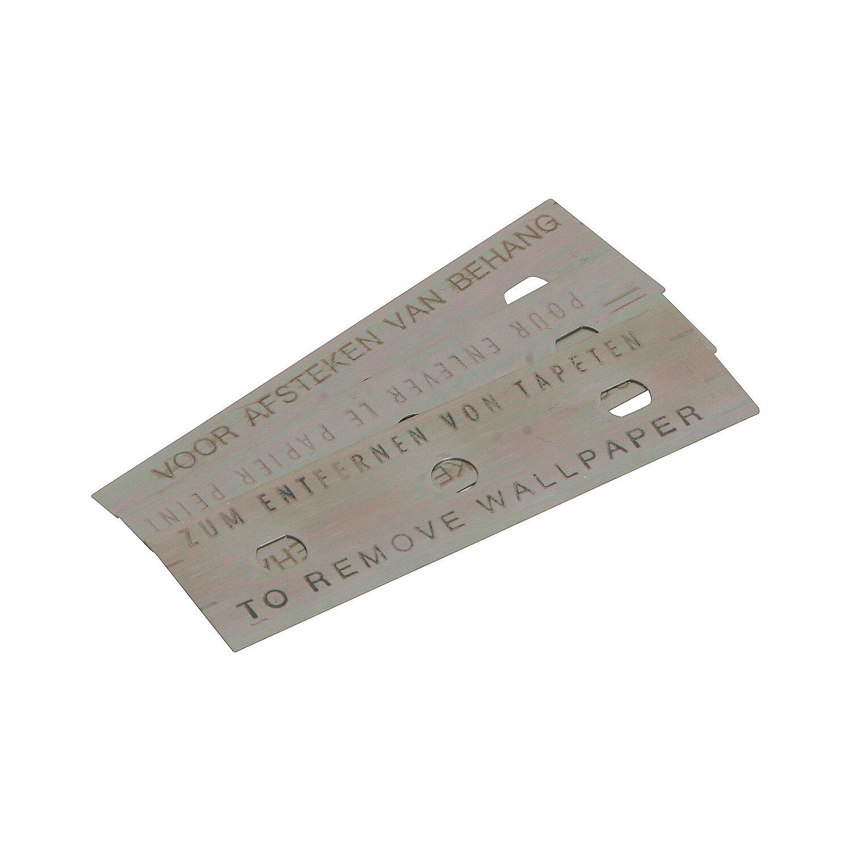 LUX Stumpfe Ersatzklingen für Tapetenentferner