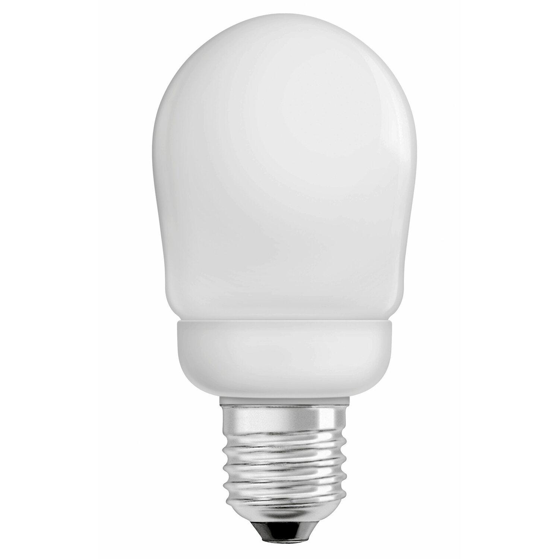 osram energiesparlampe gl hlampenform e27 9 w 430 lm warmwei eek a kaufen bei obi. Black Bedroom Furniture Sets. Home Design Ideas