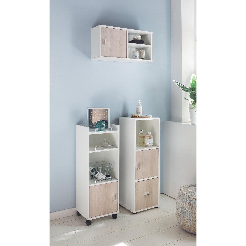 kesper unterschrank 32 5 cm scala buche wei mit rollen kaufen bei obi. Black Bedroom Furniture Sets. Home Design Ideas