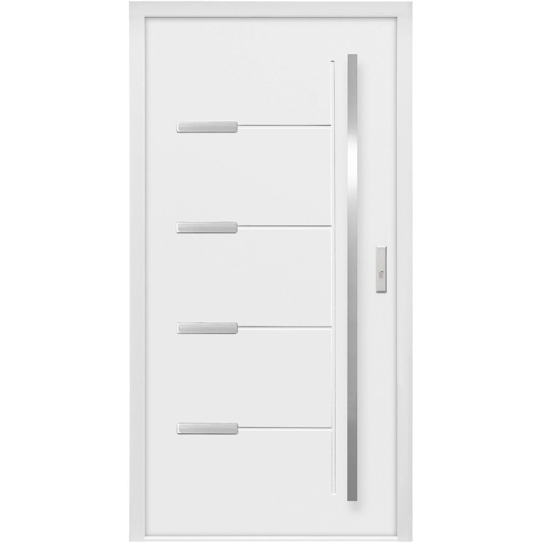 sicherheits haust r thermospace oslo rc2 110 x 210 cm wei anschlag rechts kaufen bei obi. Black Bedroom Furniture Sets. Home Design Ideas