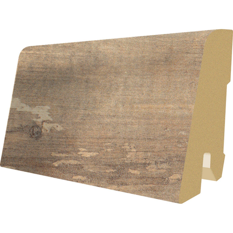 Megafloor Laminat Megafloor Sockelleiste Robin Wood 60 mm x 17 mm Länge 2400 mm