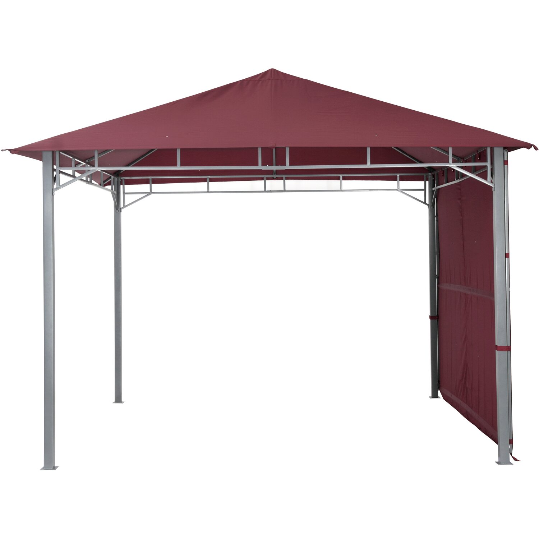 tepro pavillon lehua 330 cm x 330 cm burgund kaufen bei obi. Black Bedroom Furniture Sets. Home Design Ideas