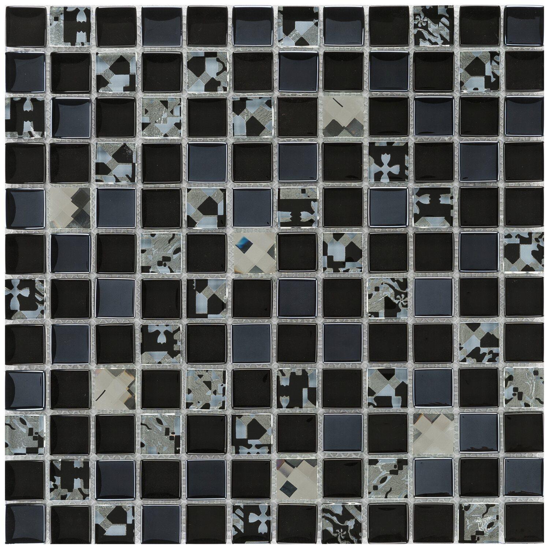 Mosaik glas retro crystal 30 cm x 30 cm kaufen bei obi - Crystal mosaik fliesen ...