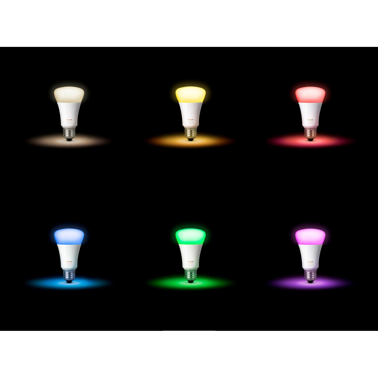 Philips Hue LED Lampe E2710W Weiß&Mehrfarbig Color Ambience