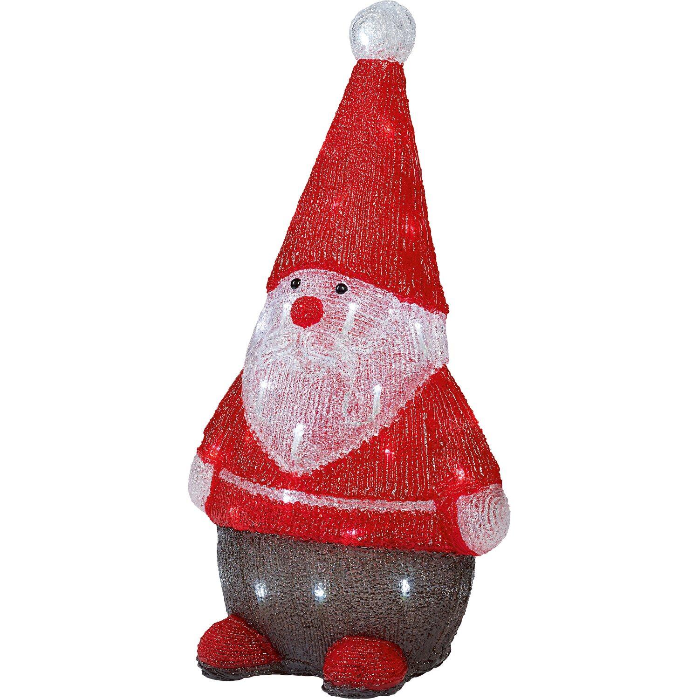 Obi led figur weihnachtsmann 40 leds kaltwei kaufen bei obi for Obi weihnachten
