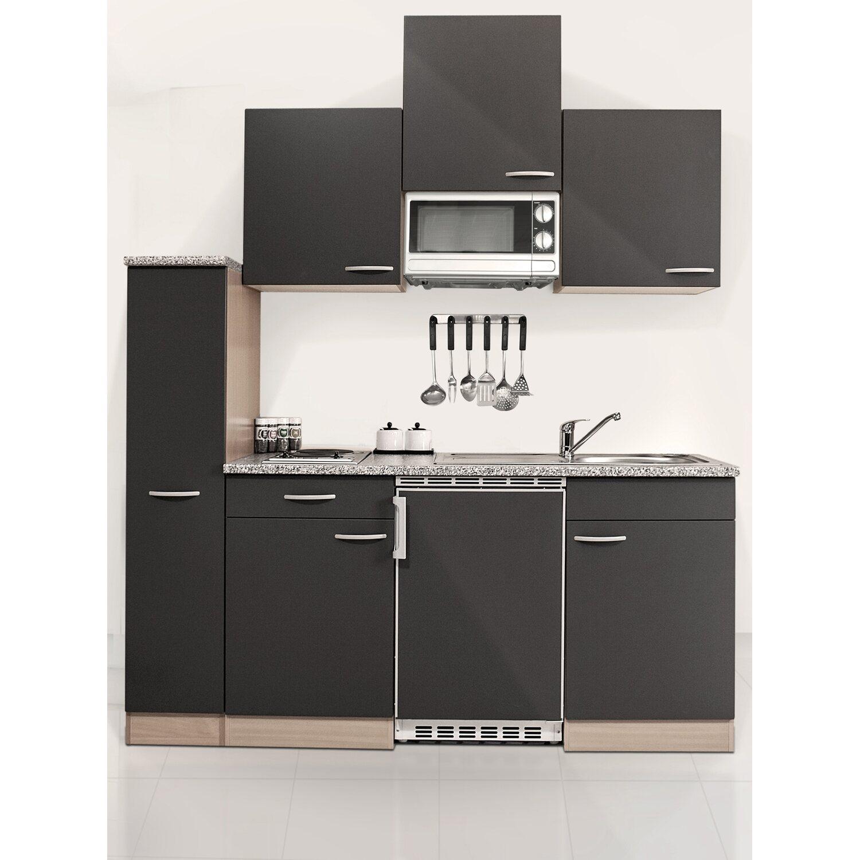 respekta economy k chenzeile kb180bgmi 180 cm grau buche kaufen bei obi. Black Bedroom Furniture Sets. Home Design Ideas