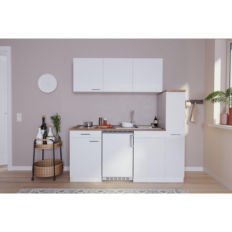 respekta economy k chenzeile kb180wwc 180 cm wei kaufen bei obi. Black Bedroom Furniture Sets. Home Design Ideas