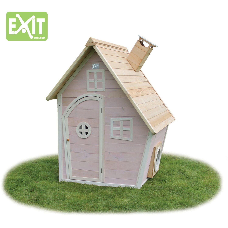 exit spielhaus fantasia 100 rosa kaufen bei obi. Black Bedroom Furniture Sets. Home Design Ideas