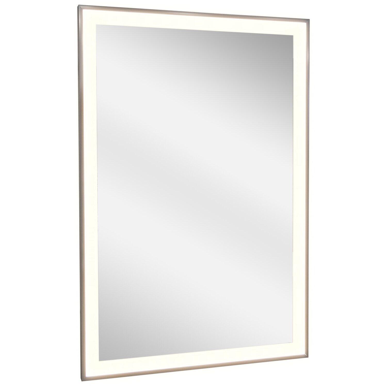 vasner spiegel infrarotheizung zipris s led 700 w mit licht und chrom rahmen kaufen bei obi. Black Bedroom Furniture Sets. Home Design Ideas