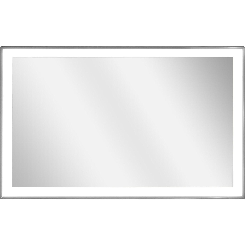vasner spiegel infrarotheizung zipris s led 400 w mit licht und titan rahmen kaufen bei obi. Black Bedroom Furniture Sets. Home Design Ideas