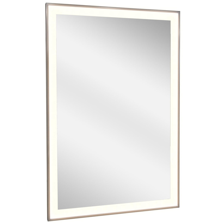 vasner spiegel infrarotheizung zipris s led 700 w mit licht und titan rahmen kaufen bei obi. Black Bedroom Furniture Sets. Home Design Ideas