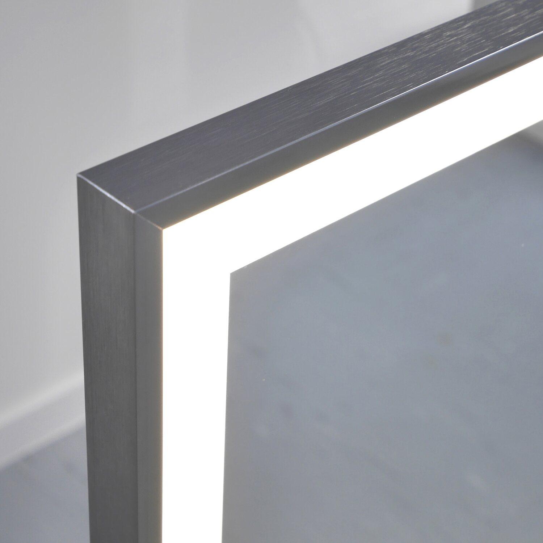 vasner spiegel infrarotheizung zipris s led 700 w mit. Black Bedroom Furniture Sets. Home Design Ideas