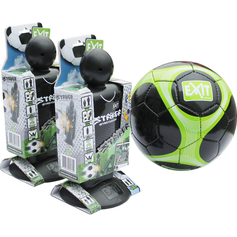 Exit Striker Streetsoccer 2 Stück mit Fußball