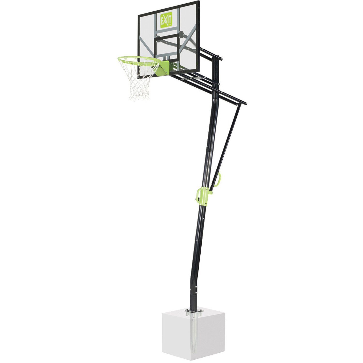 Exit Toys Exit Basketball-Korb Galaxy Inground Basket mit Dunkring freistehend