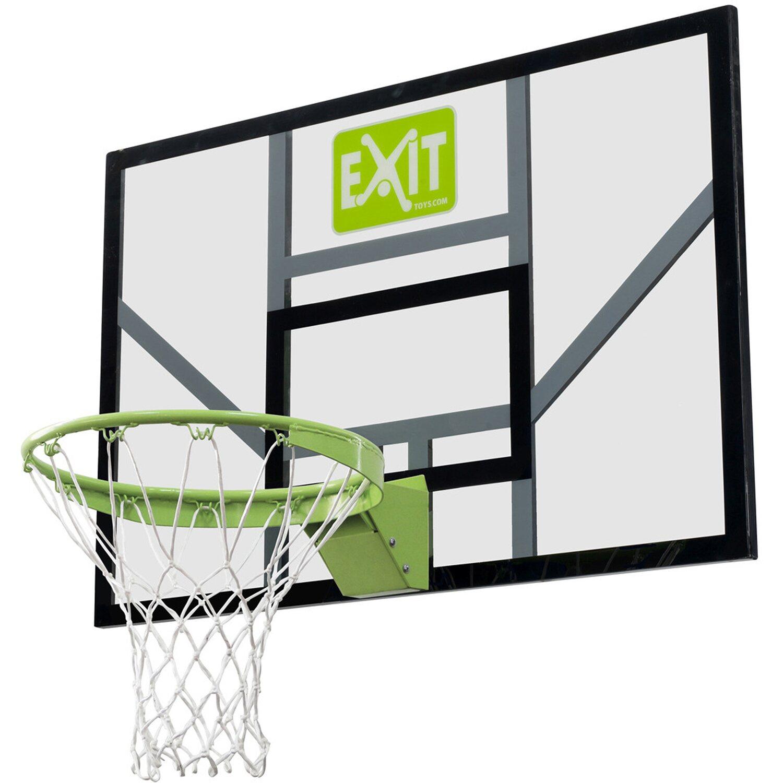 Exit Toys Exit Basketball-Korb Galaxy Board mit Dunkring und Netz