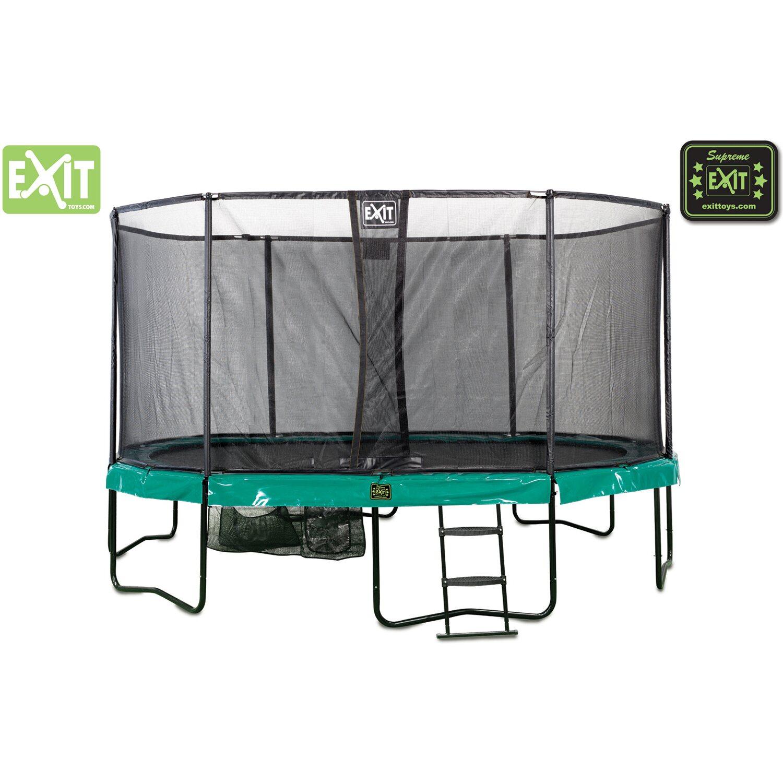 Exit Trampolin Supreme All-in-1 mit Sicherheitsnetz 89 cm x 457 cm ...