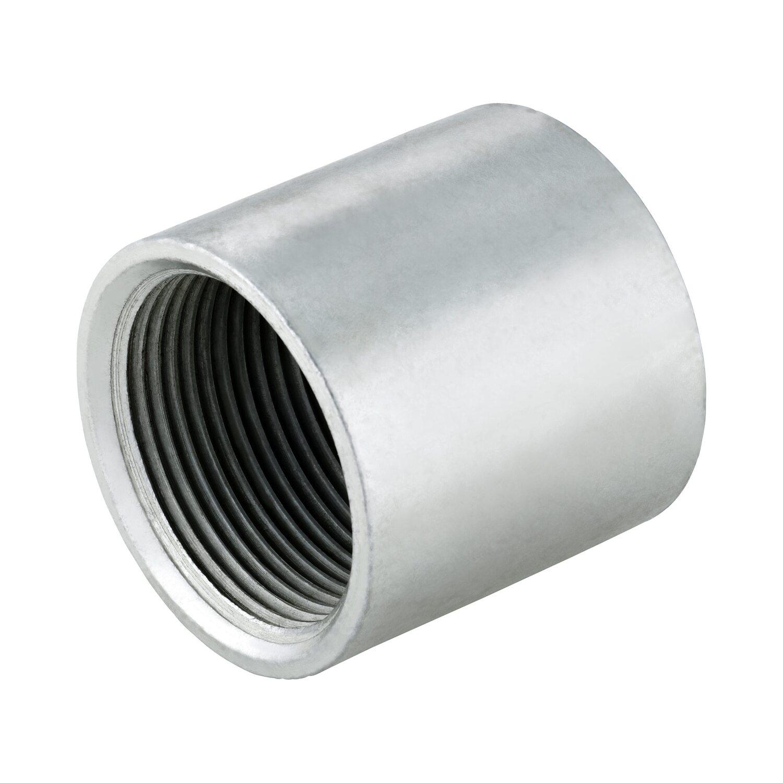 LUX Muffe IG 38,9 mm (Rp 1 1/4) verzinkt für Schlagkopf