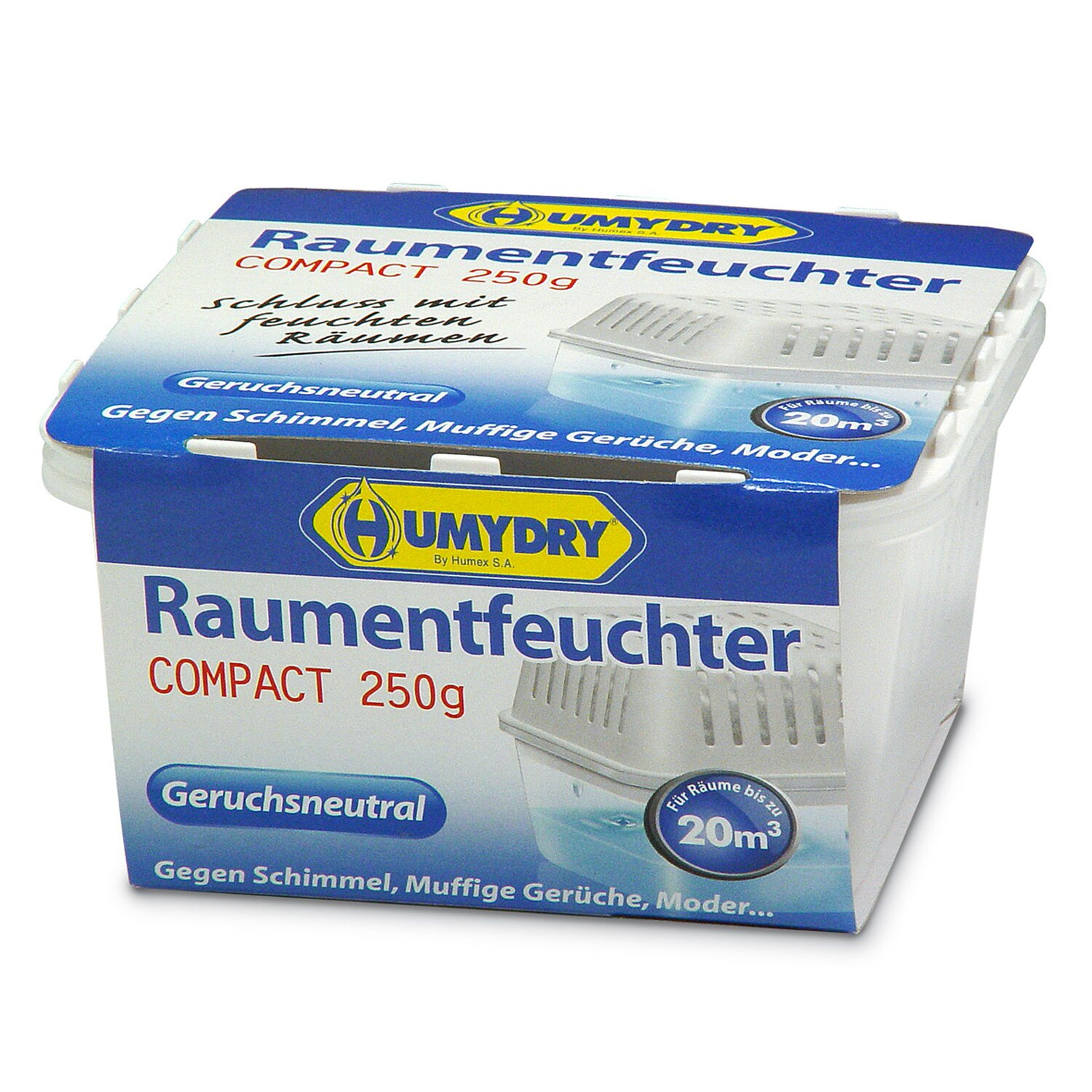 Humydry Compact Raumentfeuchter Neutral 250 g