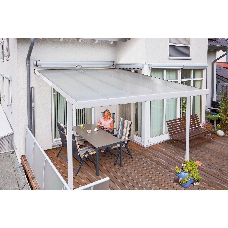 bausatz terrassenuberdachung, terrassenüberdachung bausatz (bxt) 306 cm x 406 cm weiß kaufen bei obi, Design ideen