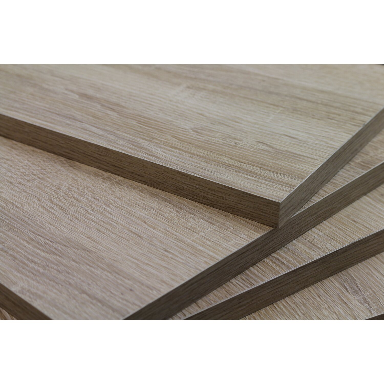 regalboden holznachbildung sonoma eiche 80 cm x 20 cm x 1 6 cm kaufen bei obi. Black Bedroom Furniture Sets. Home Design Ideas