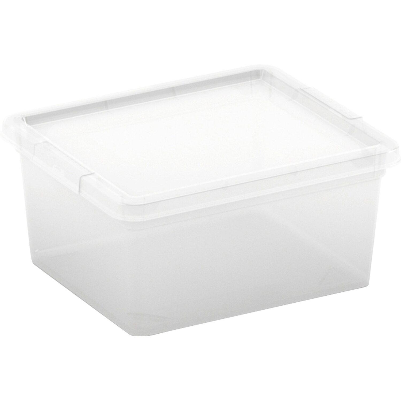 aufbewahrungsbox c xxs mit deckel transparent kaufen bei obi. Black Bedroom Furniture Sets. Home Design Ideas