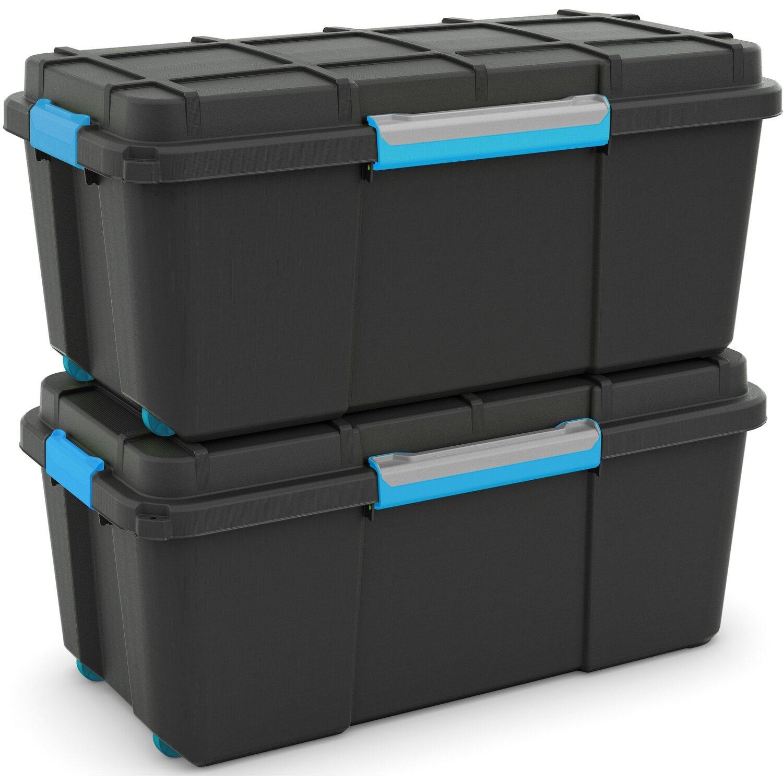 aufbewahrungsbox scuba l mit silikonring im deckel und 4. Black Bedroom Furniture Sets. Home Design Ideas