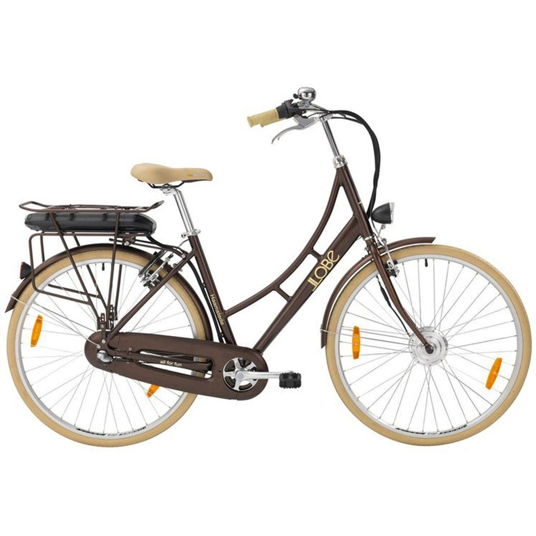 LLobe E-Bike 28 City Alu Hollandrad Haamstede