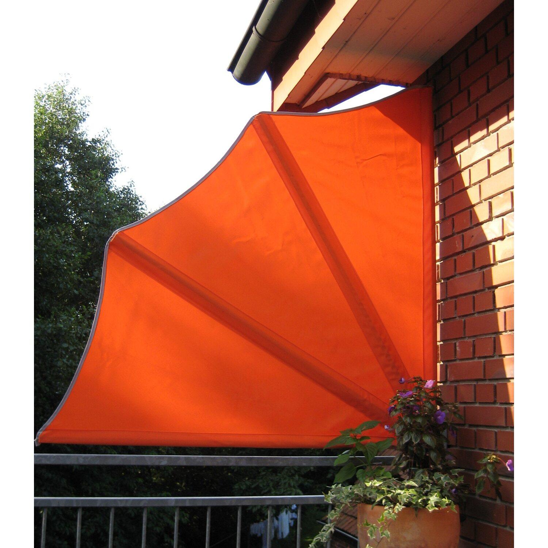 Leco Balkon Sichtschutz Facher Orange Kaufen Bei Obi