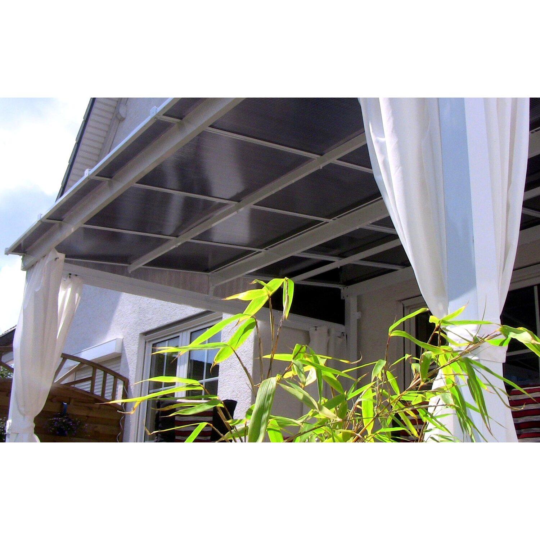 Leco Terrassenuberdachung Mit Stegplatten 360 X 300 Cm Kaufen Bei Obi