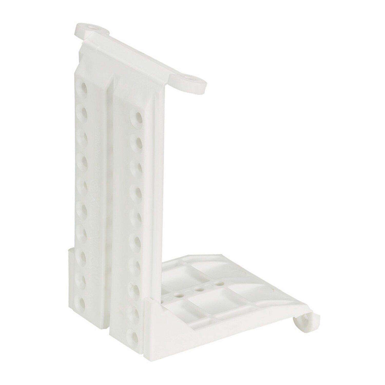 Hettich  Dachschrägenadapter Kunststoff Weiß