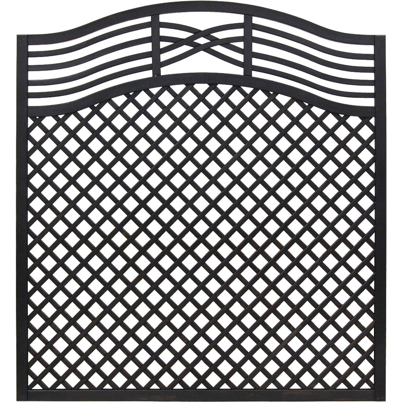 rankgitter malaga anthrazit 180 195 cm x 180 cm kaufen bei obi. Black Bedroom Furniture Sets. Home Design Ideas