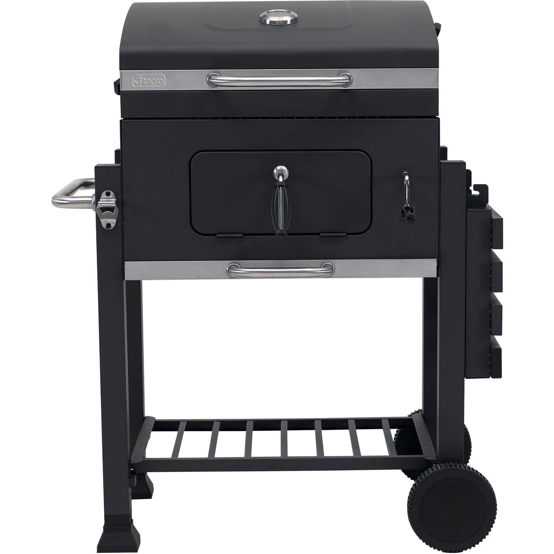 tepro holzkohle grillwagen toronto click mit h henverstellbarer kohlewanne kaufen bei obi. Black Bedroom Furniture Sets. Home Design Ideas