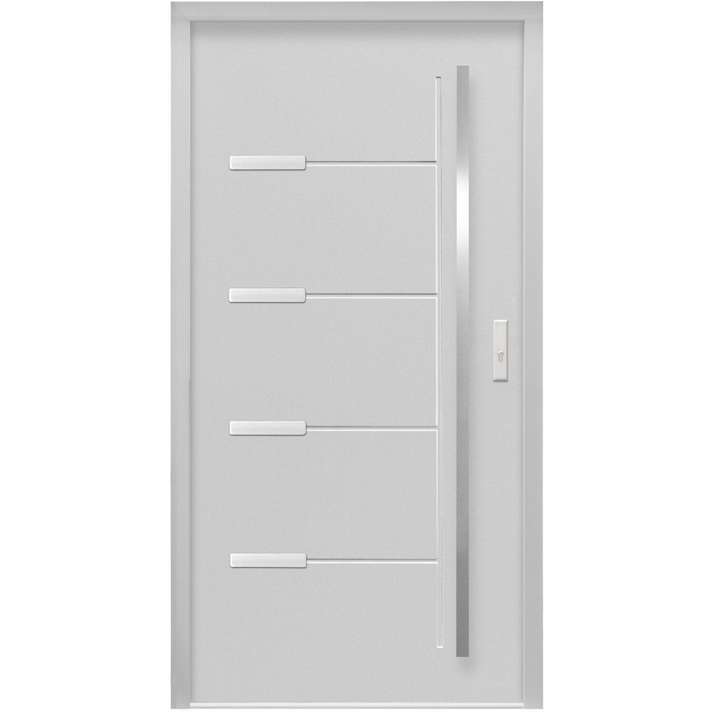 sicherheits haust r thermospace oslo rc2 110 x 210 cm grau anschlag rechts kaufen bei obi. Black Bedroom Furniture Sets. Home Design Ideas
