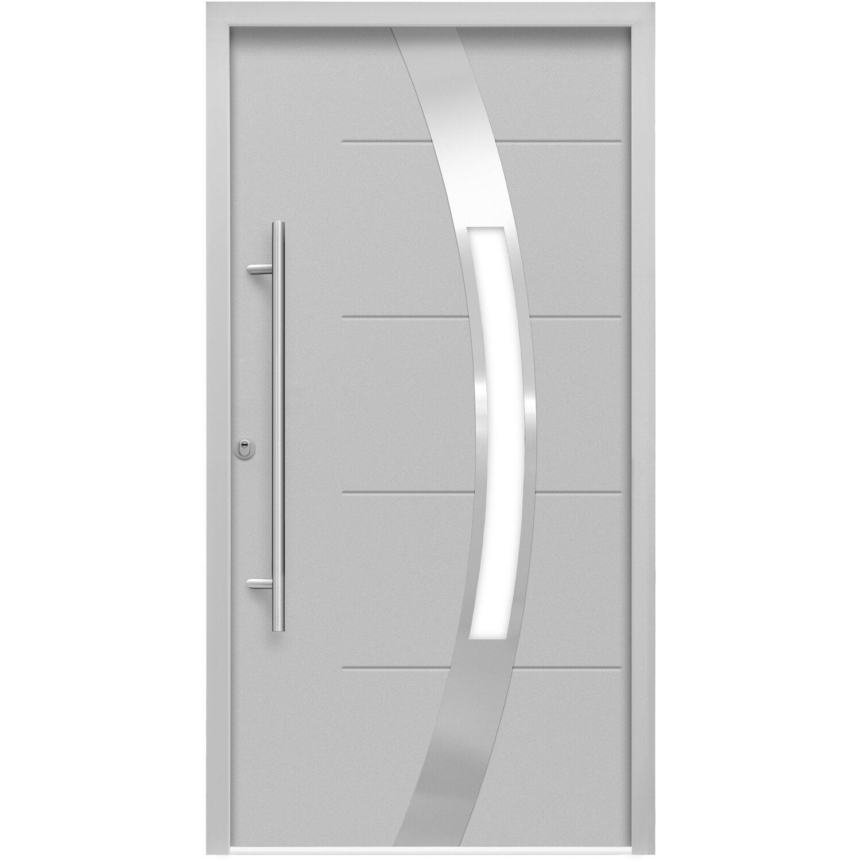 sicherheits haust r thermospace prag rc2 110 x 210 cm grau anschlag links kaufen bei obi. Black Bedroom Furniture Sets. Home Design Ideas