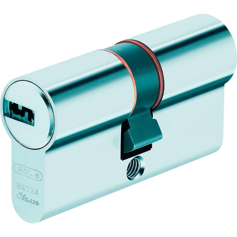 Abus  Profilzylinder EC750N 35/35 B/SB mit 5 Schlüsseln