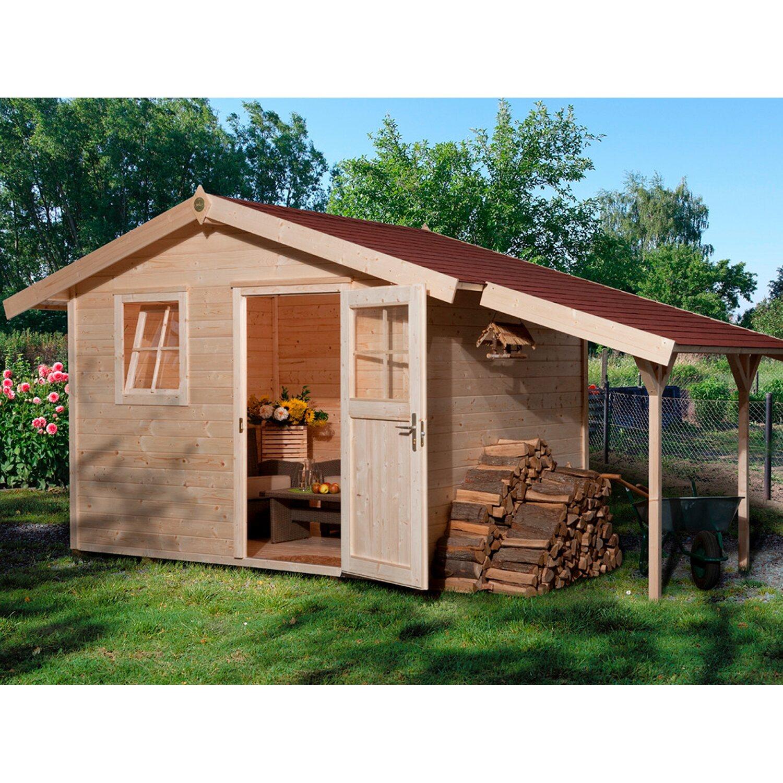 OBI Holz-Gartenhaus Bozen A BxT: 326 cm x 205 c...