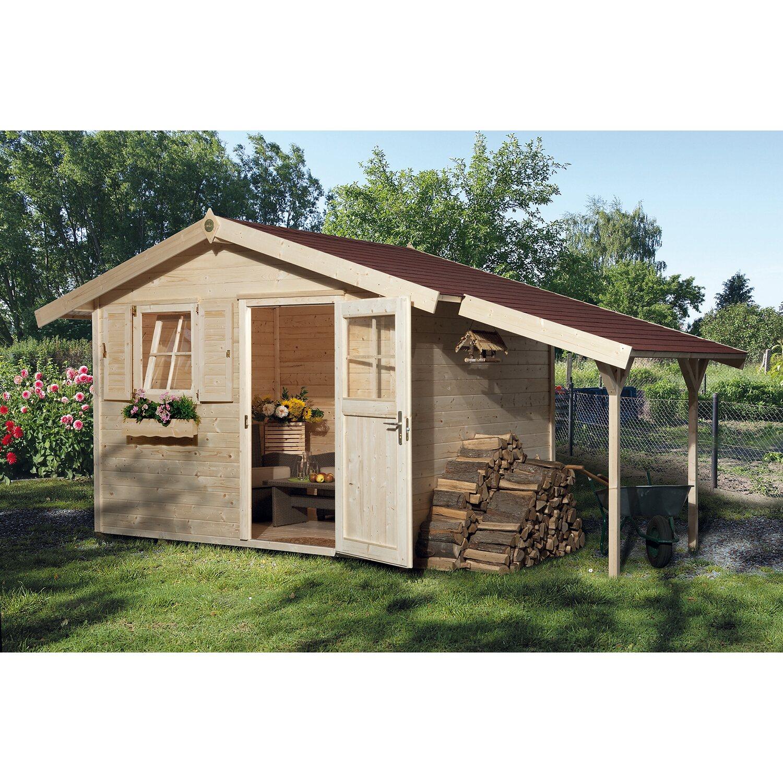 OBI Holz Gartenhaus Bozen B BxT: 420 cm x 235 cm davon 120 cm