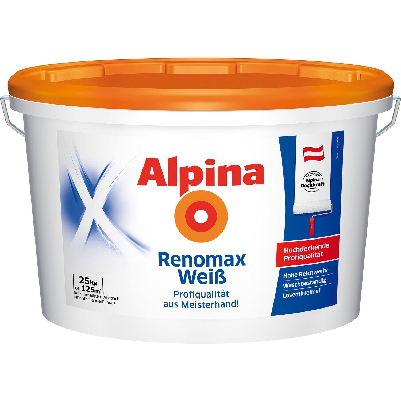 alpina renomax wei matt 25 kg kaufen bei obi. Black Bedroom Furniture Sets. Home Design Ideas