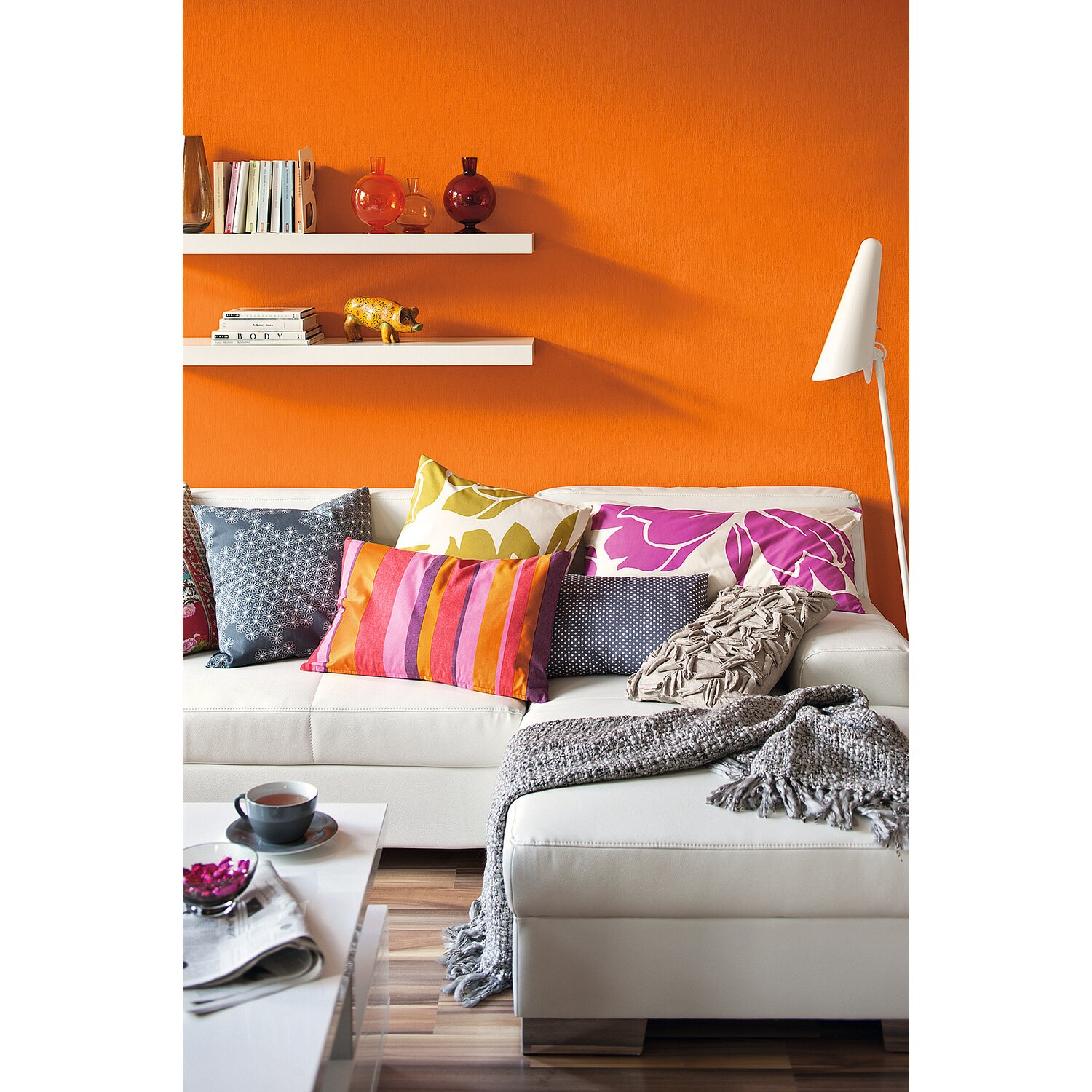 schner wohnen farbe orange elegant vollbild with schner wohnen farbe orange top bild bild with. Black Bedroom Furniture Sets. Home Design Ideas