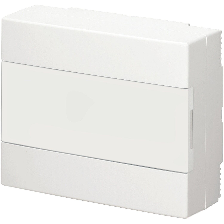 aufputz verteiler 1 reihig mit t r ip 40 wei kaufen bei obi. Black Bedroom Furniture Sets. Home Design Ideas