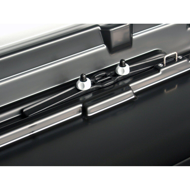 kamei auto dachbox delphin 470 l schwarz matt kaufen bei obi. Black Bedroom Furniture Sets. Home Design Ideas