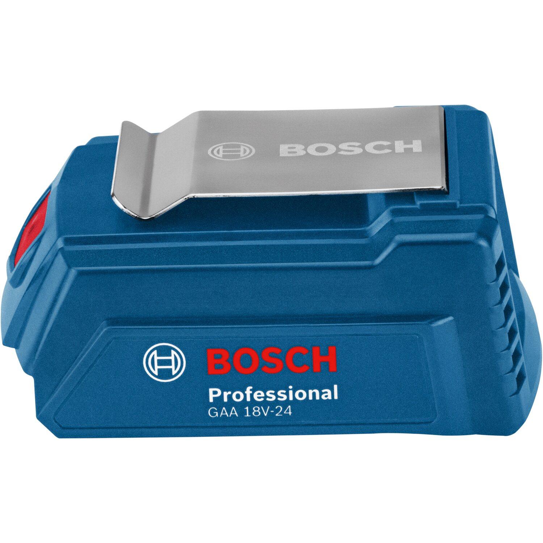Bosch Professional GAA 18V 24 USB Ladeadapter für Akkus ab