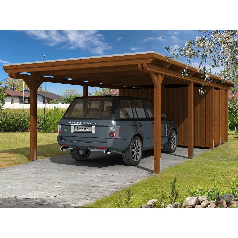 Zimmerei Carport: Carport Mit Abstellraum. Stunning Aus Holz Mit Abstellraum