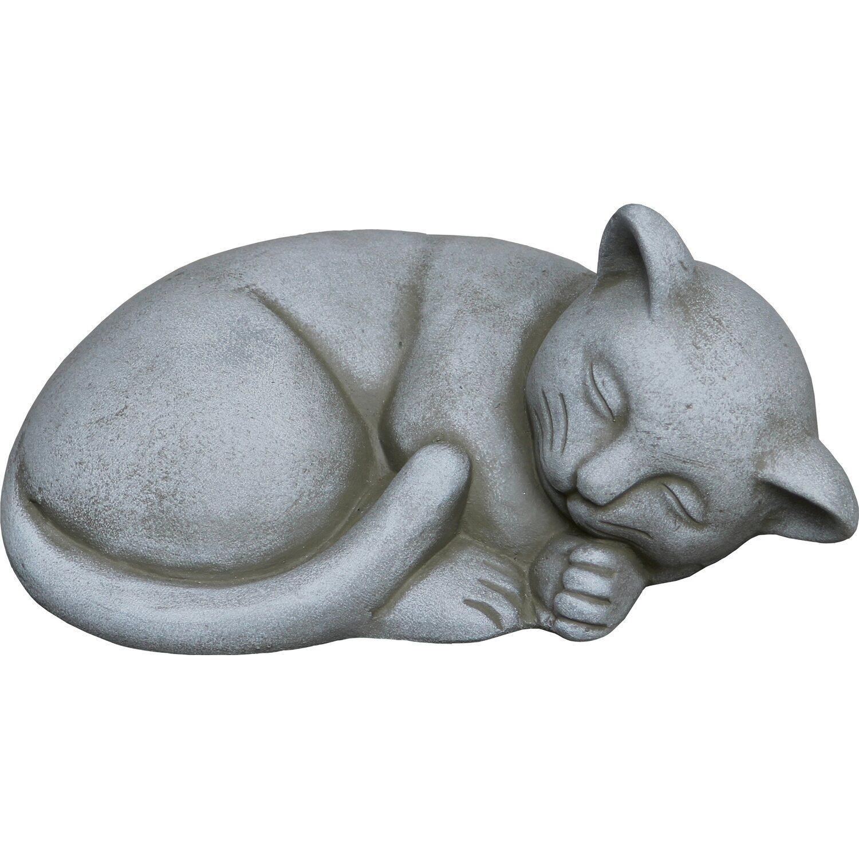 deko-figur katze liegend 10 cm kaufen bei obi